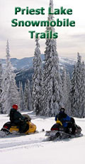 Priest Lake Snowmobile Trails
